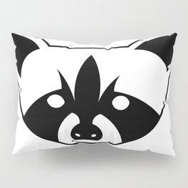 Raccoon Face Pillow Sham