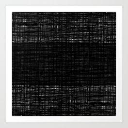 platno (center stripe) Art Print