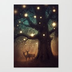 Summer Night Canvas Print