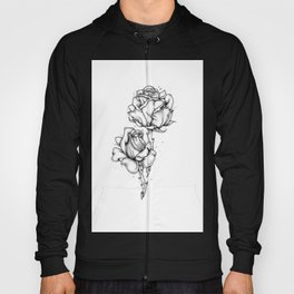 Dotwork Roses Hoody
