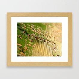 Nintendo GB Chip Framed Art Print