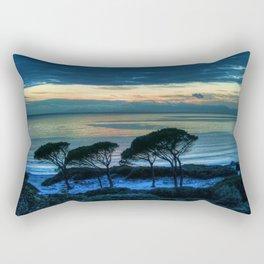 Sardinia, the beach at dusk Rectangular Pillow