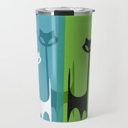 Kitty Cats Tuned In And Receiving Travel Mug