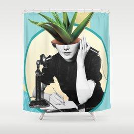 Halloe Shower Curtain