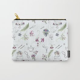 Bridal Shower Grace Carry-All Pouch