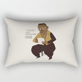 hammer to do list Rectangular Pillow