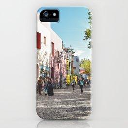 Caminito, Buenos Aires, Argentina iPhone Case