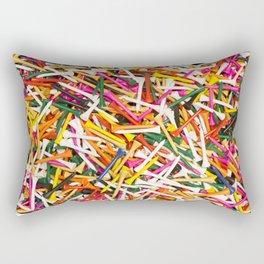 Golf Pegs Rectangular Pillow
