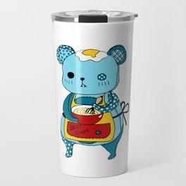 """Kookie"" The Bear Travel Mug"