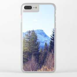 Närvik Mountains and Forest Clear iPhone Case