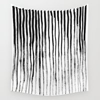 stripe Wall Tapestries featuring Stripe by Jack Newbury