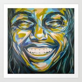 Happiness by Carolyn Mielke, carographic Art Print