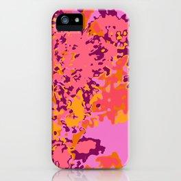 Fleur de Montserrat iPhone Case