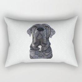 Chief the Mastiff Rectangular Pillow