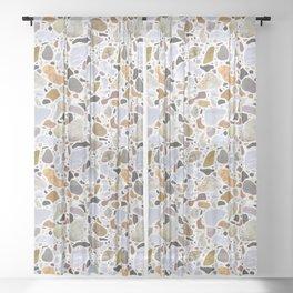 Textural Terrazzo Sheer Curtain