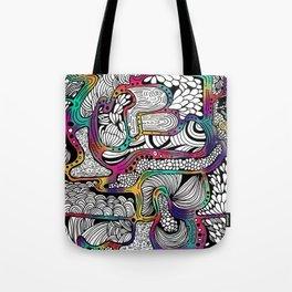 El reflejo en color Tote Bag