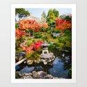 Yoshiki-en Japanese Garden Fine Art Print by sidecarphoto