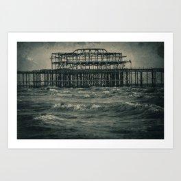 West Pier Art Print