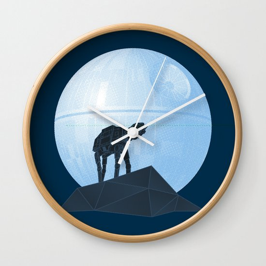 Howl at at the Moon Wall Clock