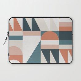 Cirque 06 Abstract Geometric Laptop Sleeve