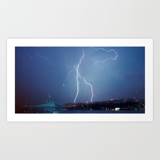 They want rain without thunder and lightning. Art Print