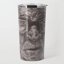 Heavy glasses Travel Mug