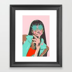 Winnie Framed Art Print