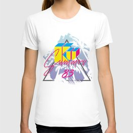 KU KU palm beach T-shirt