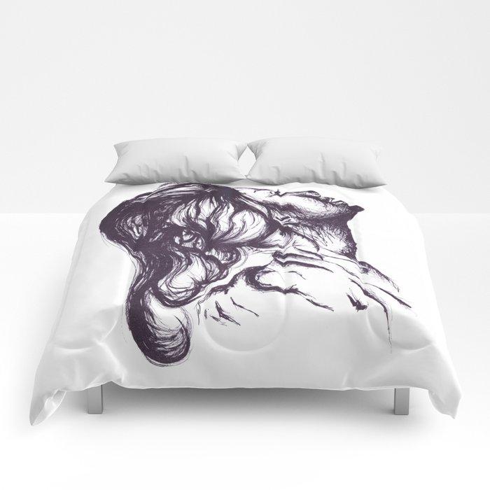 Exposed Comforters