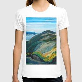 Canadian Landscape Franklin Carmichael Art Nouveau Post-Impressionism T-shirt