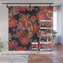 paisley exotique Wall Mural
