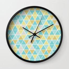 Triangulate Wall Clock