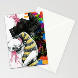 The smarmy charisma of Mauplice Orange Stationery Cards