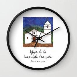 Iglesia de la Inmaculada Concepcion Wall Clock