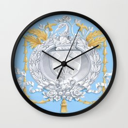 Neoclassical Arms Wall Clock