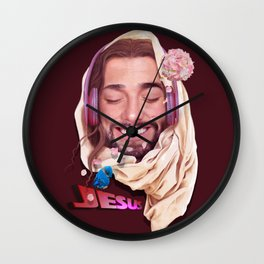 Young Jesus Wall Clock