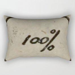 100% Rectangular Pillow