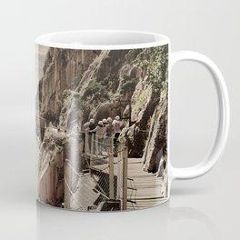 """The most dangerous trail in the world II"". El Caminito del Rey  Coffee Mug"