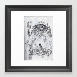 Ronin Framed Art Print
