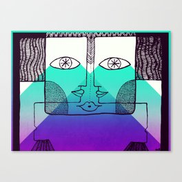 Threesome Canvas Print