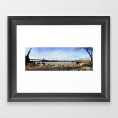 Williamsburg. Framed Art Print