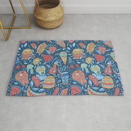 Summer cookout Rug