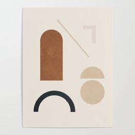 Geometric Modern Art 32 Poster