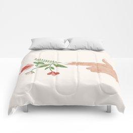 Floral Pistol Comforters