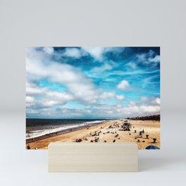 Manhattan Beach Summer Mini Art Print