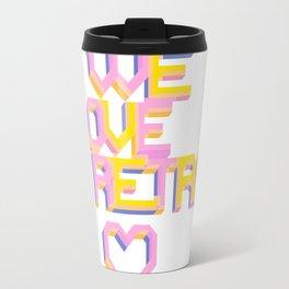 We Love Retro Travel Mug