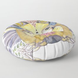 Weird Howl Nesting Floor Pillow