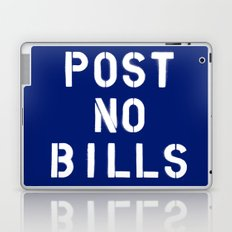 POST NO BILLS Laptop & iPad Skin