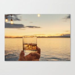 Cheers to the Sea Canvas Print