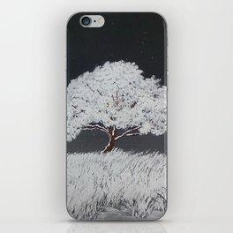 White Night iPhone Skin